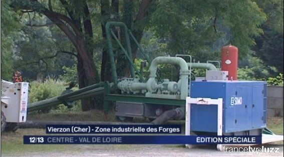 Les shadoks pompent aux Forges