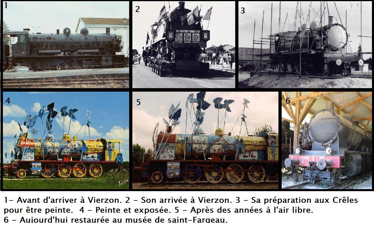 Le train, « emblème » de la ville de Vierzon