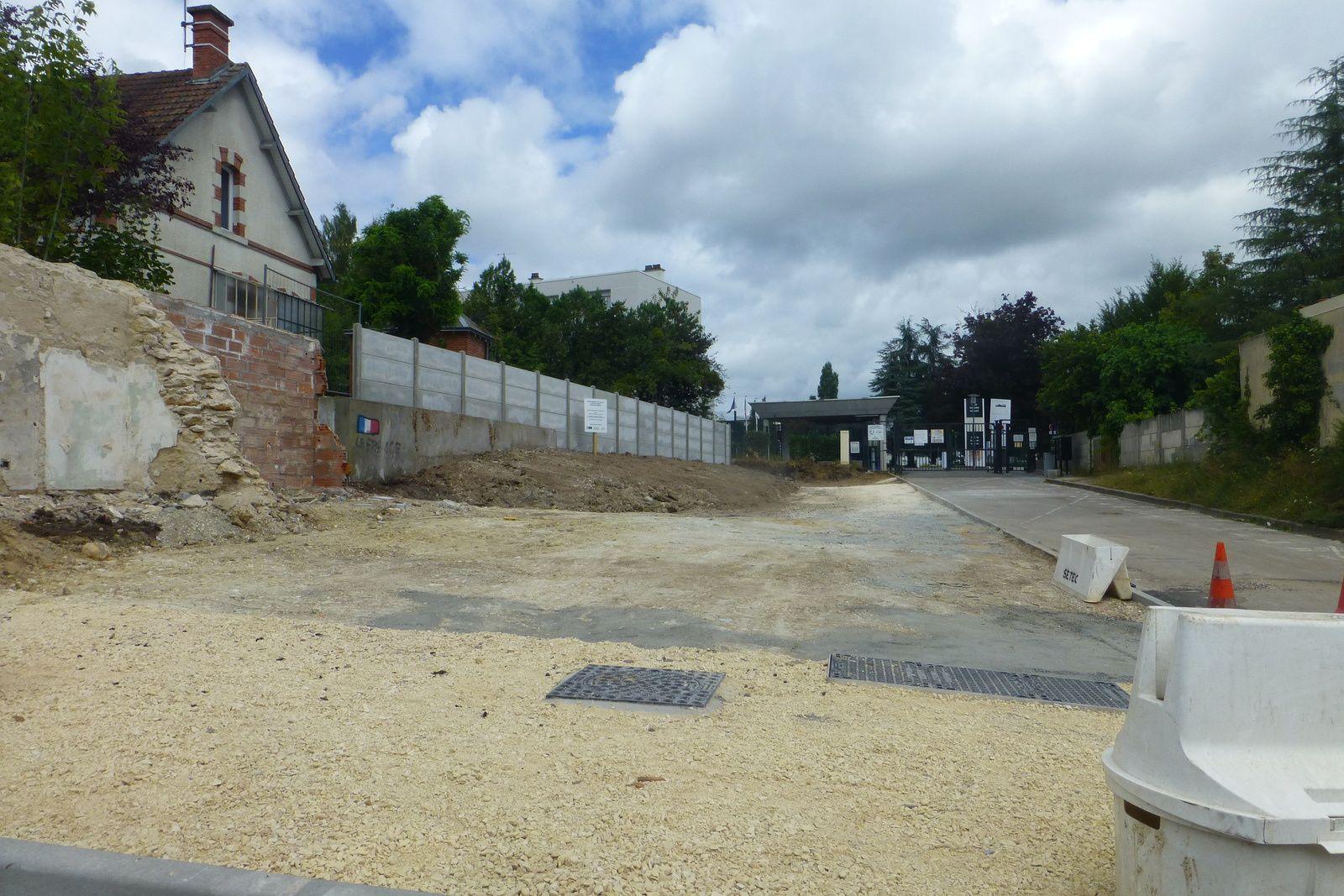 La maison devant le lycée Edouard-Vaillant a disparu !