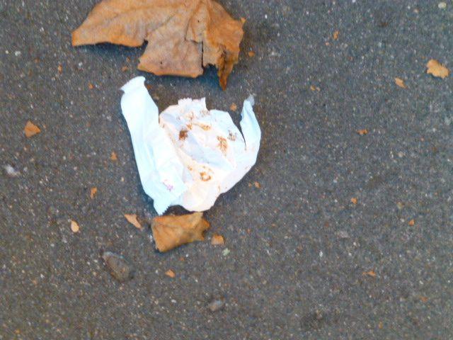Gros dégueulasses (2) : dommage, la ville avait tout nettoyé...