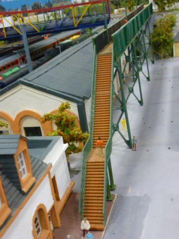 Le rail club vierzonnais donne dans la maquette très réaliste !