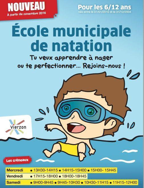 La ville reprend l'école de natation après la disparition du Vierzon natation