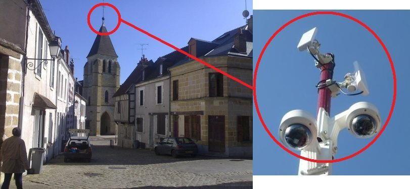 Exclusif : Vierzonitude vous révèle où se trouvera la nouvelle caméra rue Joffre !