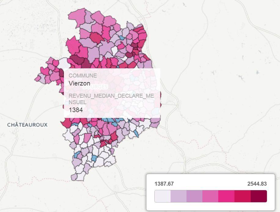Le Pen - Mélenchon : les candidats des bas revenus, c'est net à Vierzon