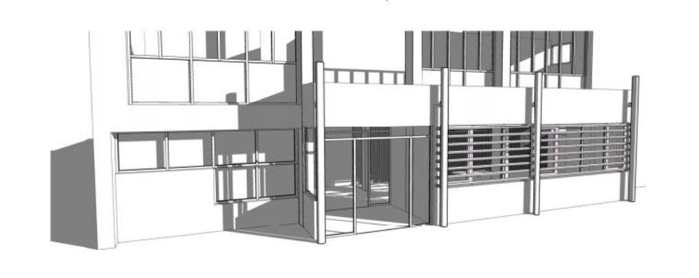 Des travaux prévoient la rénovation du rez-de-chaussée du centre social de la Caisse d'Allocations Familiales du Cher 2 rue Marat à Vierzon. Les travaux ont pour objet la transformation d'une salle en amphithéâtre de la Caisse d'allocations familiales ainsi que la restructuration de l'intérieur.