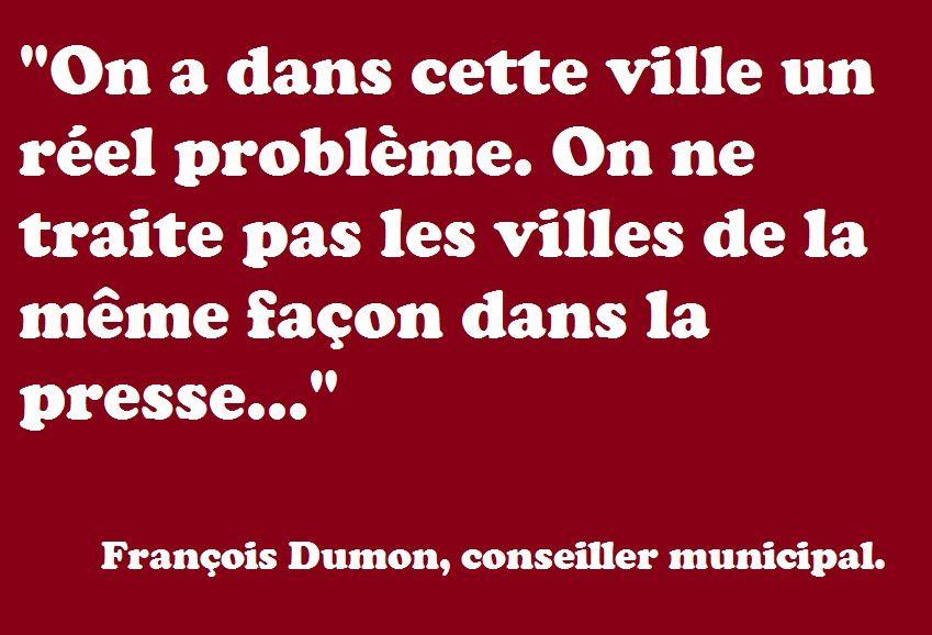La grande paranoïa de François Dumon à propos de la presse