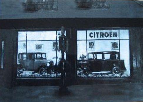 Quand le théâtre Mac-Nab était avant un garage Citröen !