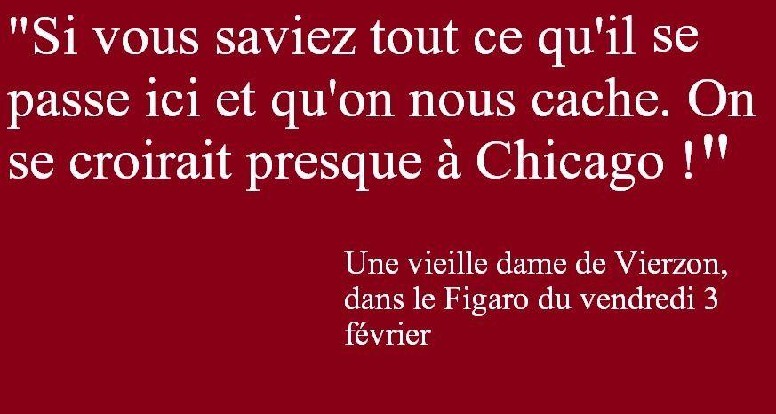 Les meilleures citations lues dans le Figaro à propos de Vierzon