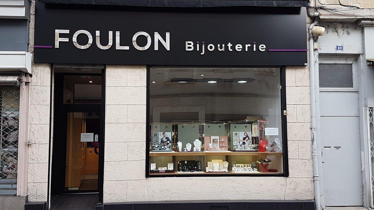 Un couple de commerçants à la bijouterie Foulon (ex-Lasserre)