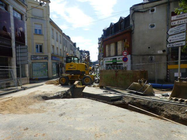 Îlot Rollinat : les travaux entrent dans le dur !