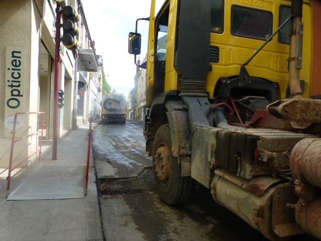 Attention, la rue Armand Brunet de nouveau fermée à partir de ce mardi matin