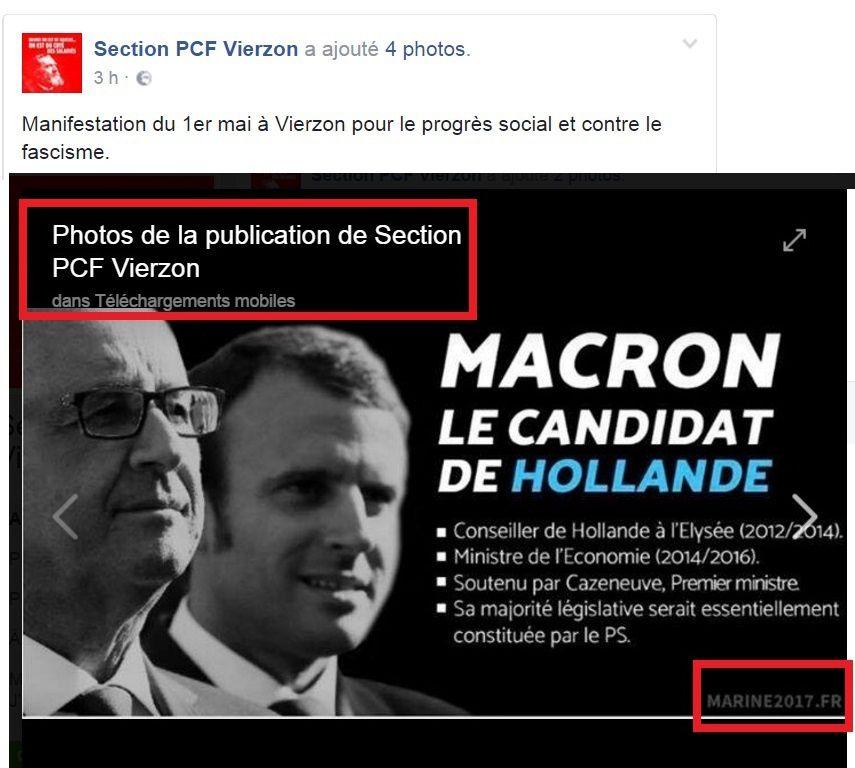 La CGT de Vierzon appelle à faire front commun contre l'un et l'autre des candidats