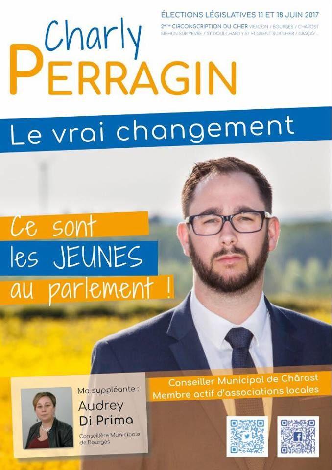 Vierzonitude interroge les candidats : pour Charly Perragin, la désertification médicale doit être une priorité