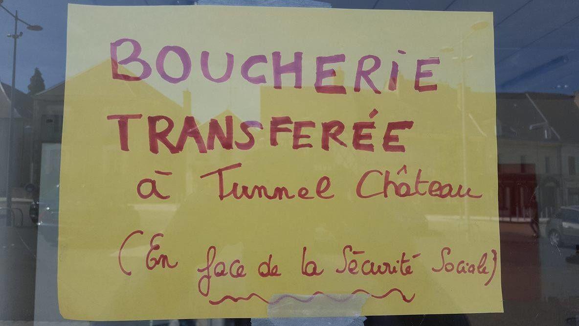 La boucherie de la place du Marché au Blé retourne au Tunnel-Chateau !