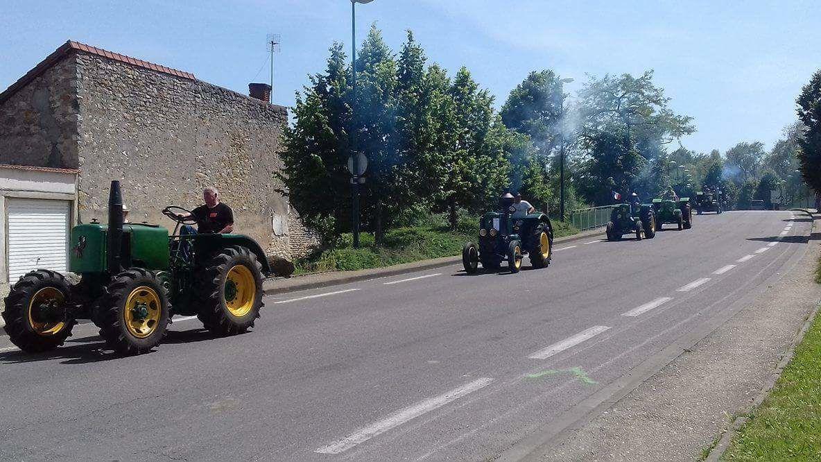 Les tracteurs sont à Vierzon !