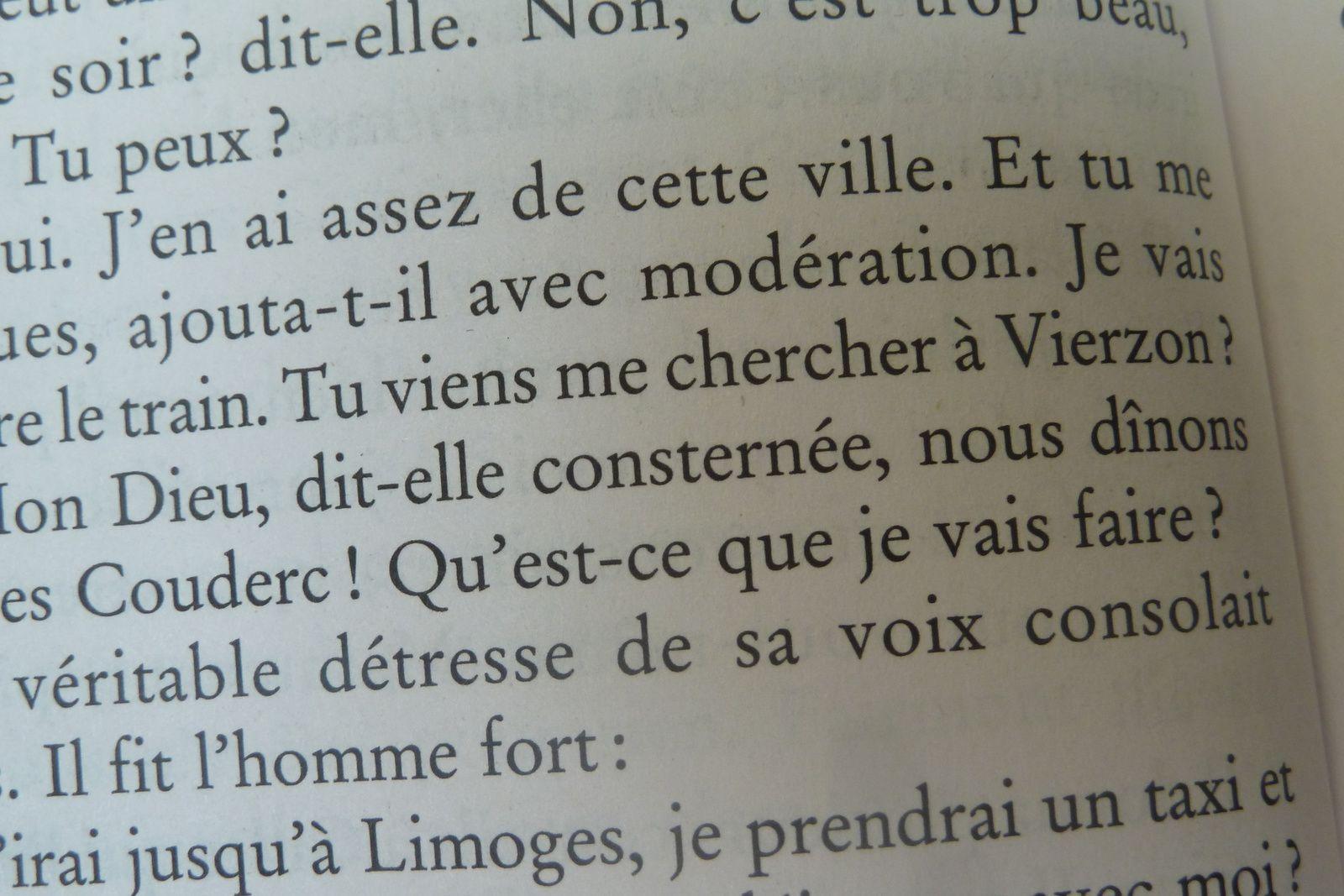 Et Françoise Sagan cita Vierzon !