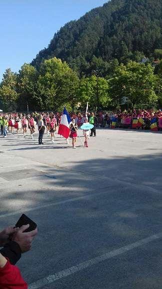Orlane des Medley'dies, portent les couleurs de la France en Slovénie