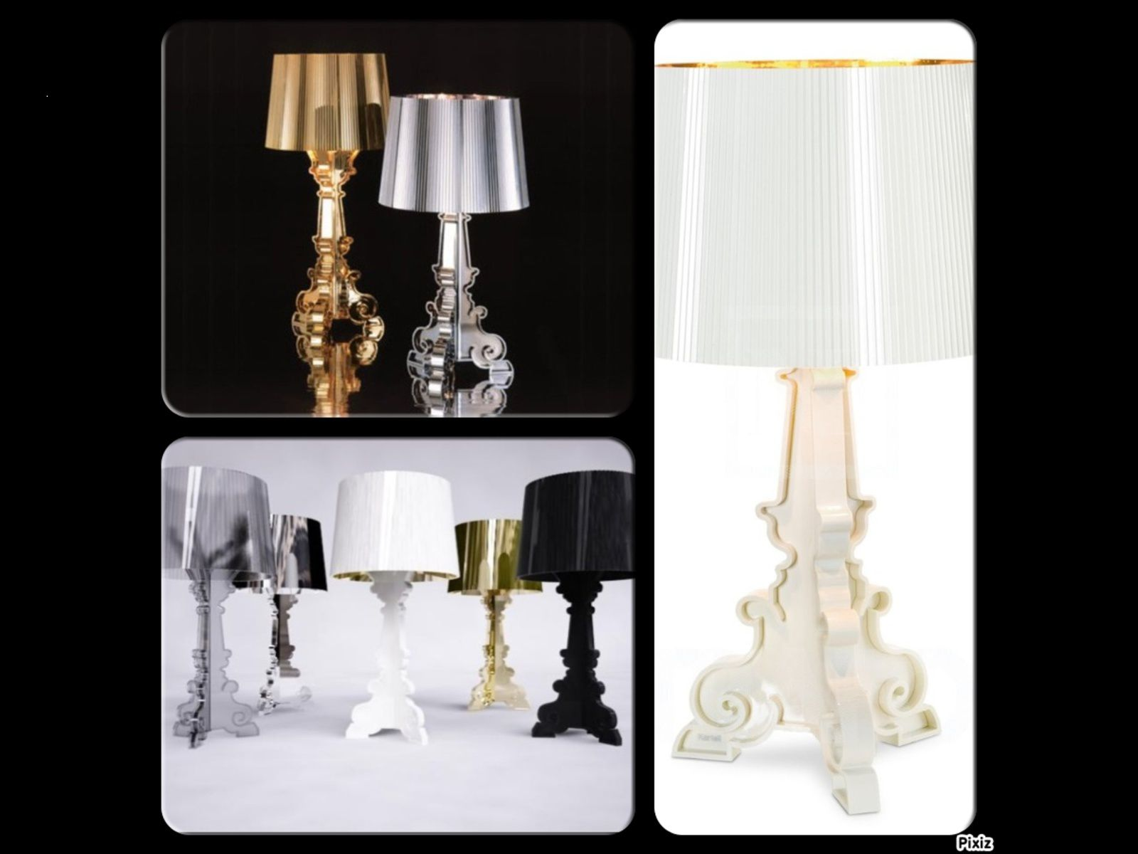 lampe bourgie de kartell la folie. Black Bedroom Furniture Sets. Home Design Ideas