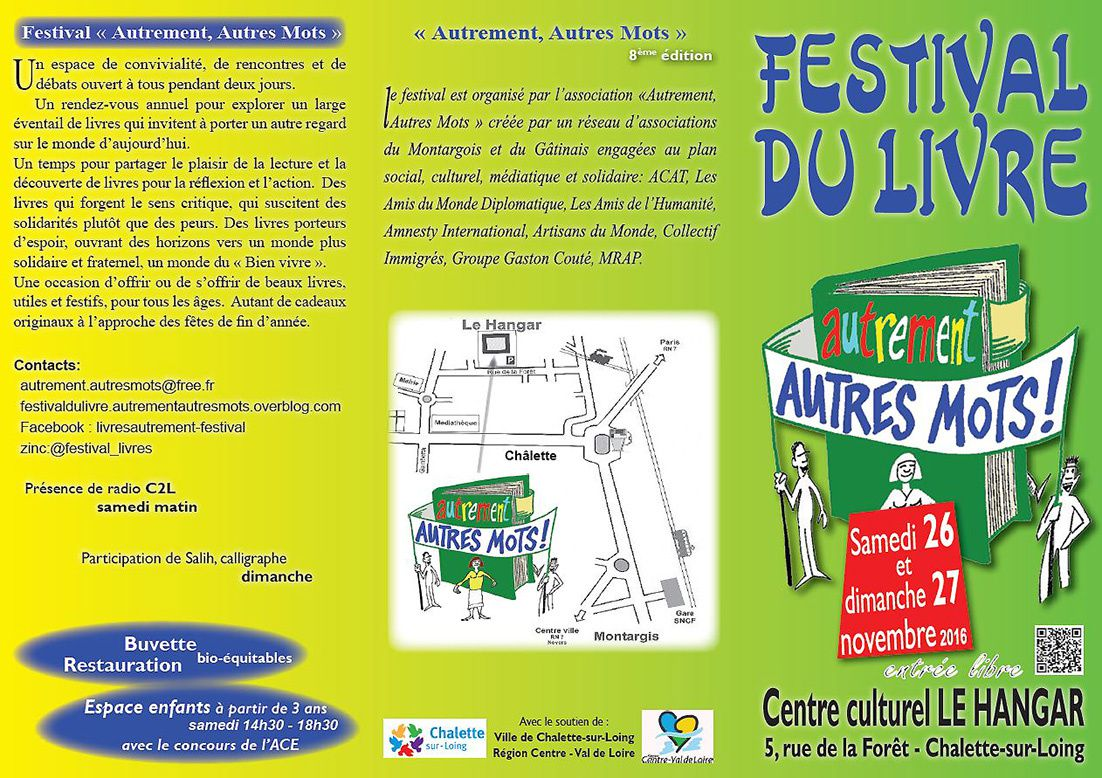 Festival du Livre 2016 / tout le programme