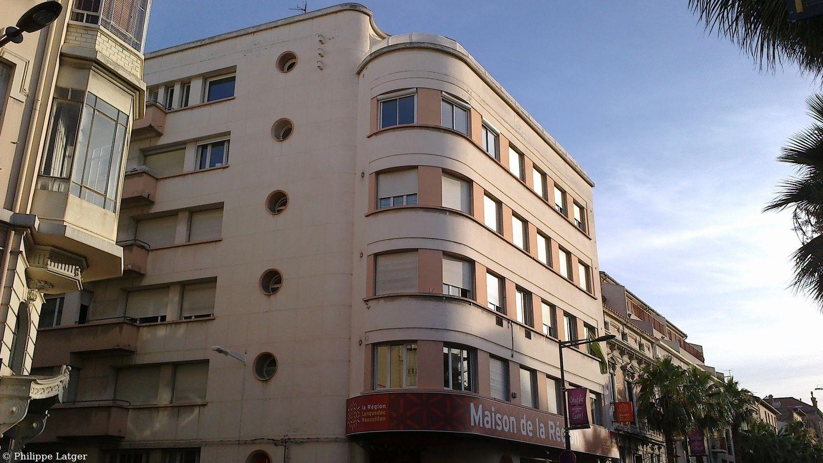 L'ex hôtel Royal Roussillon