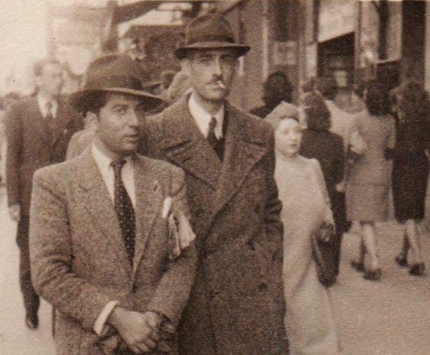 Les architectes Férid Muchir (à gauche) et Georges David (à droite)