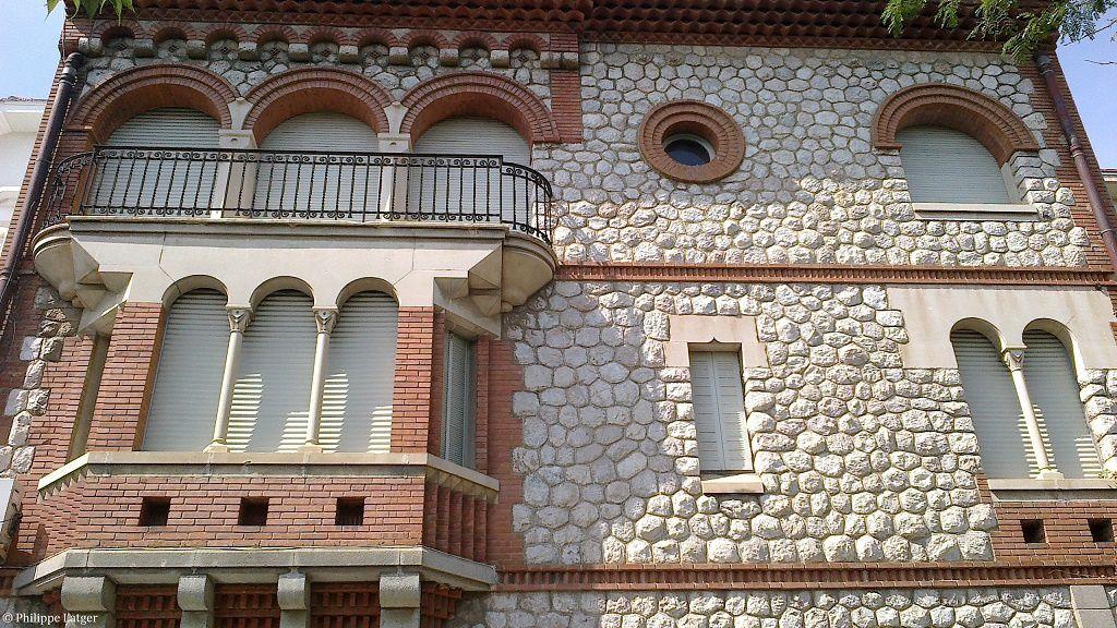 L'Hôtel Alboize, l'école Arrels, 9 rue Elie Delcros d'Edouard Mas-Chancel