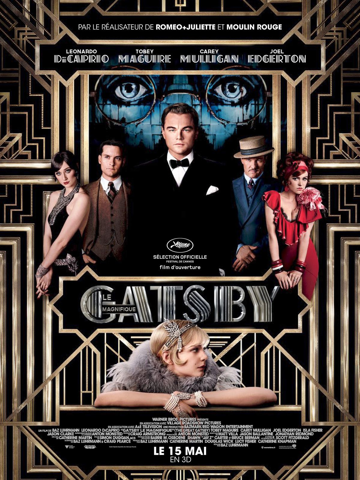 18h30 : The Great Gatsby (VO) de 2013 au Cinéma le Castillet