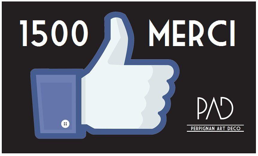 1500 personnes sur Facebook