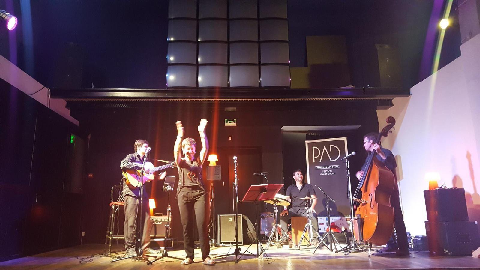 Tango et concert Violeta Duarte &amp&#x3B; le Trio Sensible au Centro Espagnol