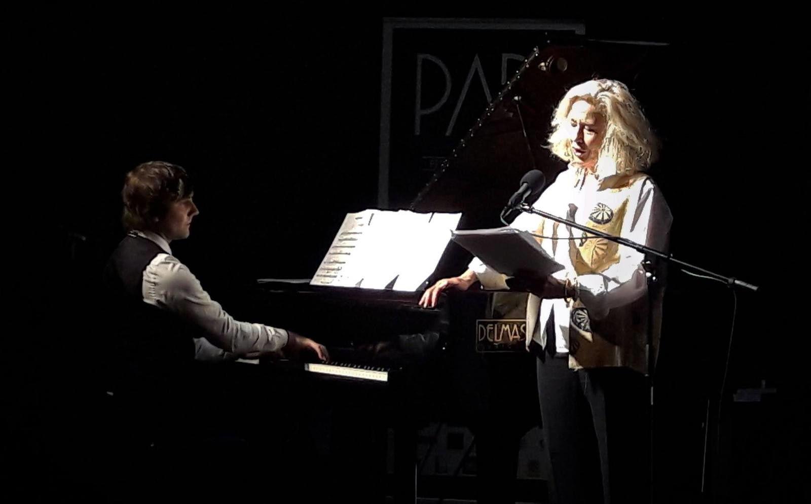 Brigitte Fossey et Eric Artz dans Gatsby