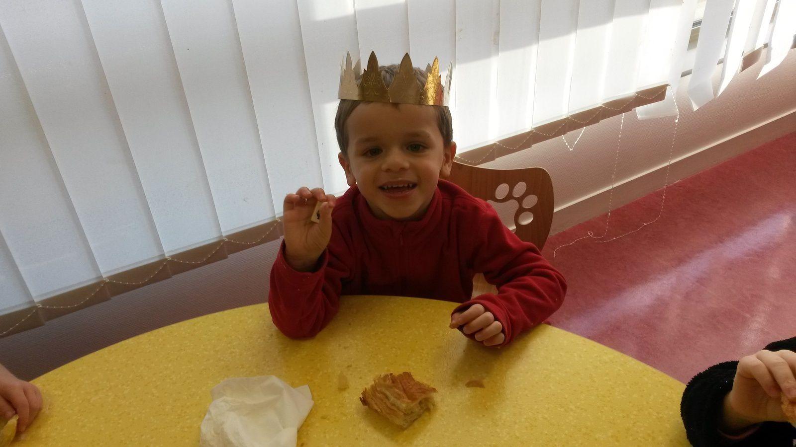 J'ai la fève, c'est moi le roi !