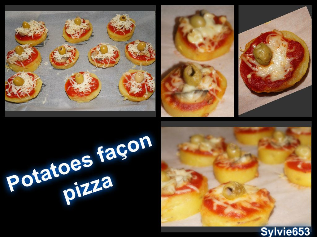 Potatoes façon pizza