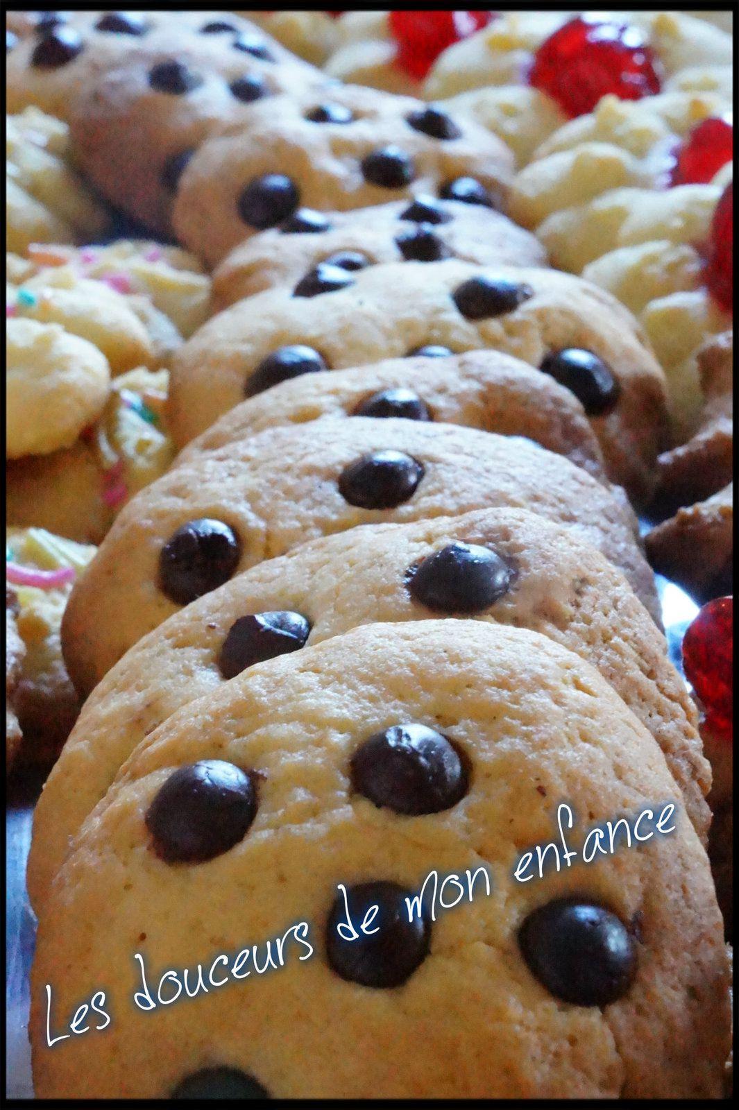 Biscuits à la presse