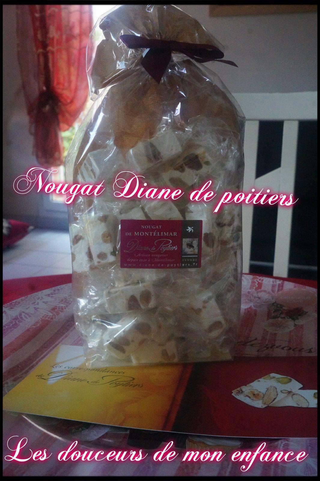 Nougat Diane de Poytiers son histoire