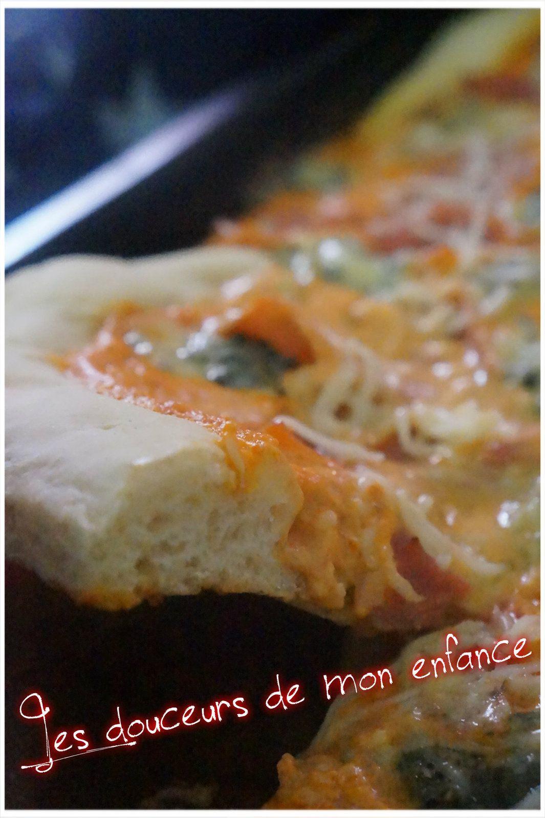 Pizza Américaine au fromage