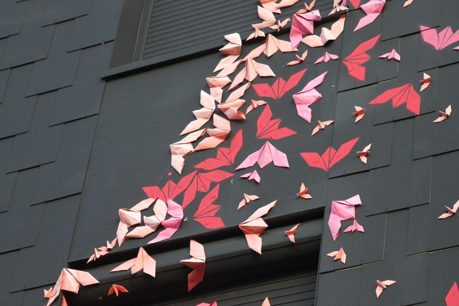 Des origamis par milliers