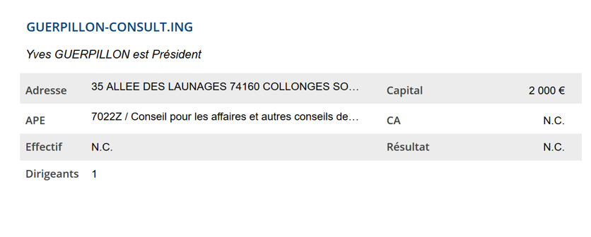 Yves GUERPILLON, expert… en liquidation ?