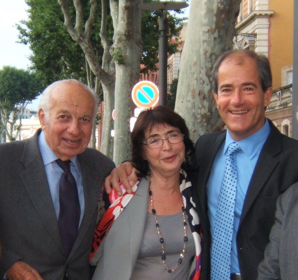 CABESTANY : la première femme députée des P-O, Renée Soum (PS), présidente du GESA, rend hommage à M. Claude Estier