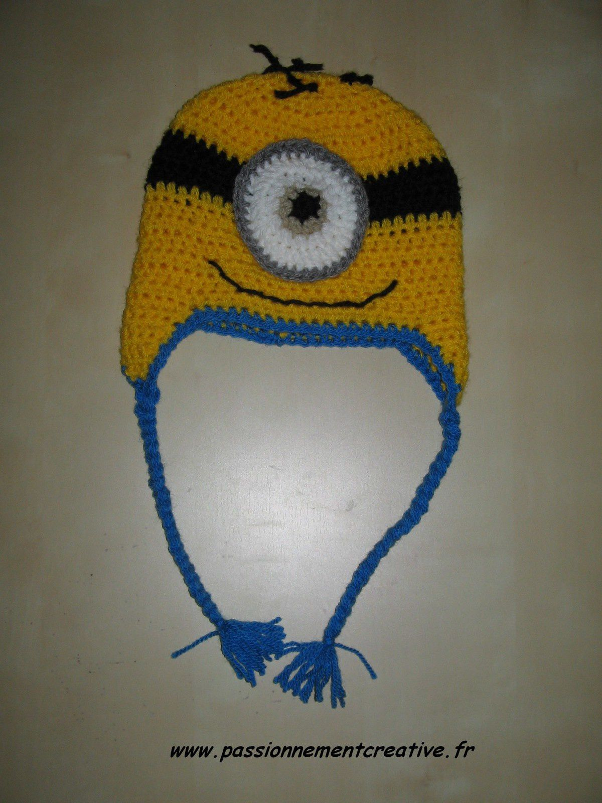 Bonnets Minion au crochet