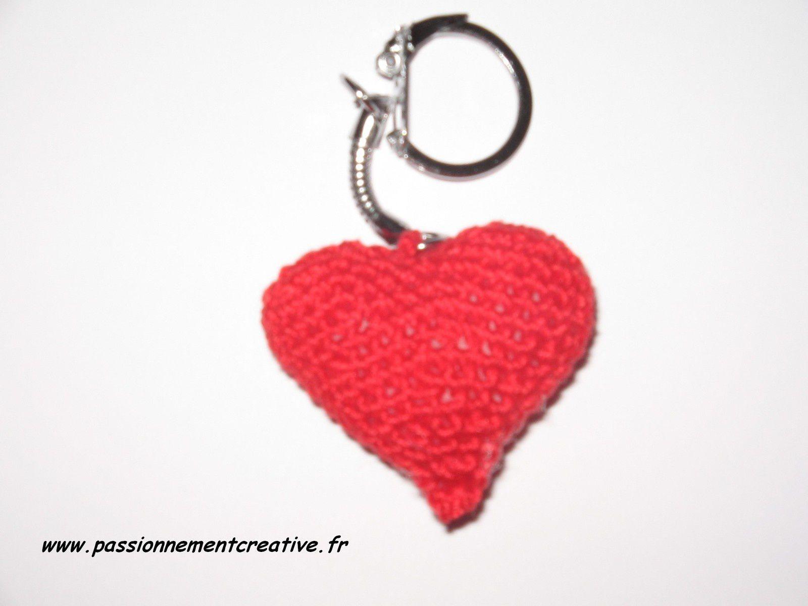Des coeurs en porte-clés