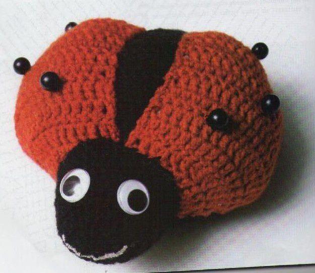 Tutoriel au crochet - Doudou Coccinelle