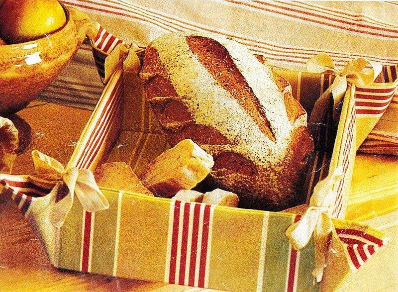 Tutoriel Couture - Corbeille à pain