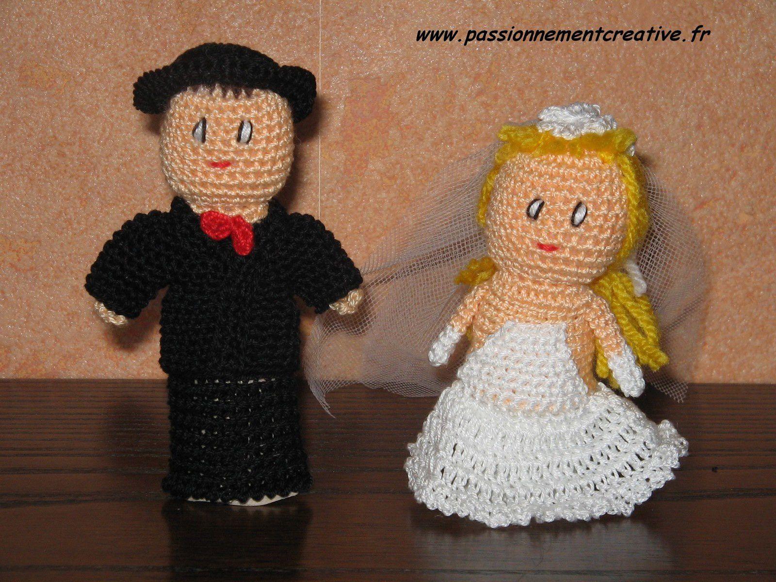 Marionnettes à doigts : famille, mariage et cie
