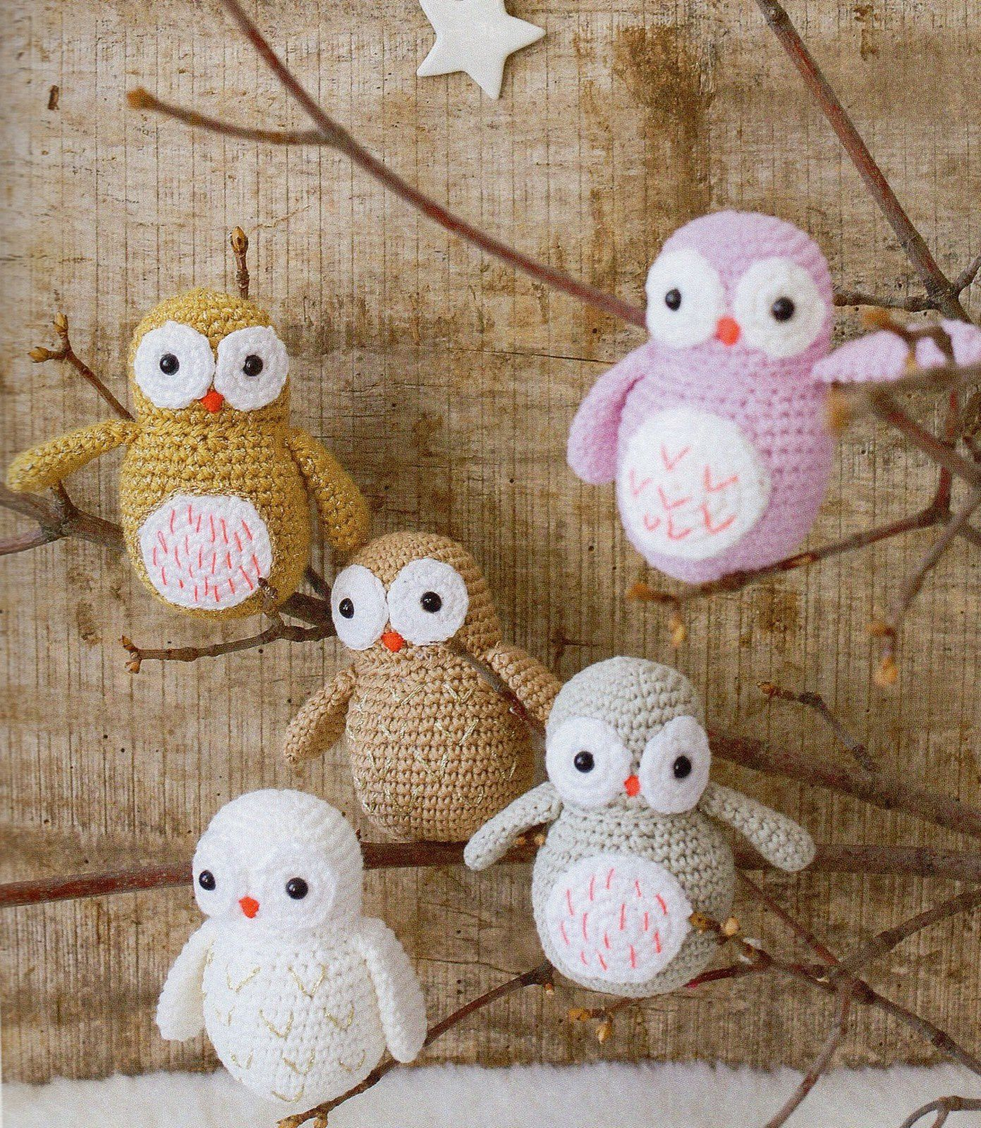 Tutoriel crochet - Chouette