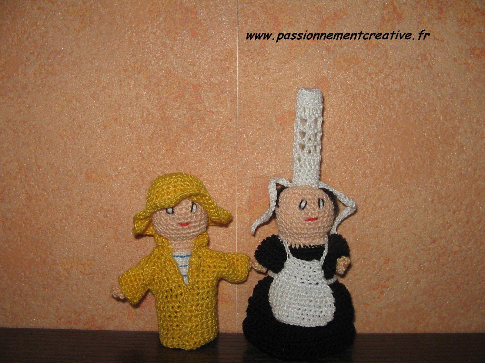 Marionnettes à doigts : la Bretagne