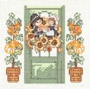 Tutoriel Broderie - Porte fleurie Novembre