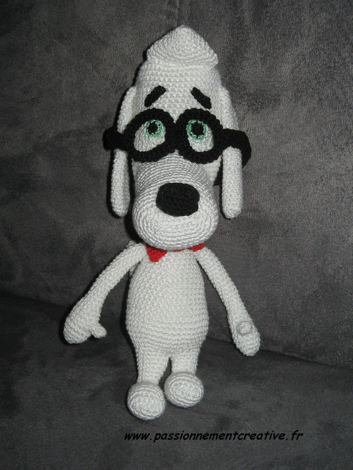 Mr Peabody au crochet