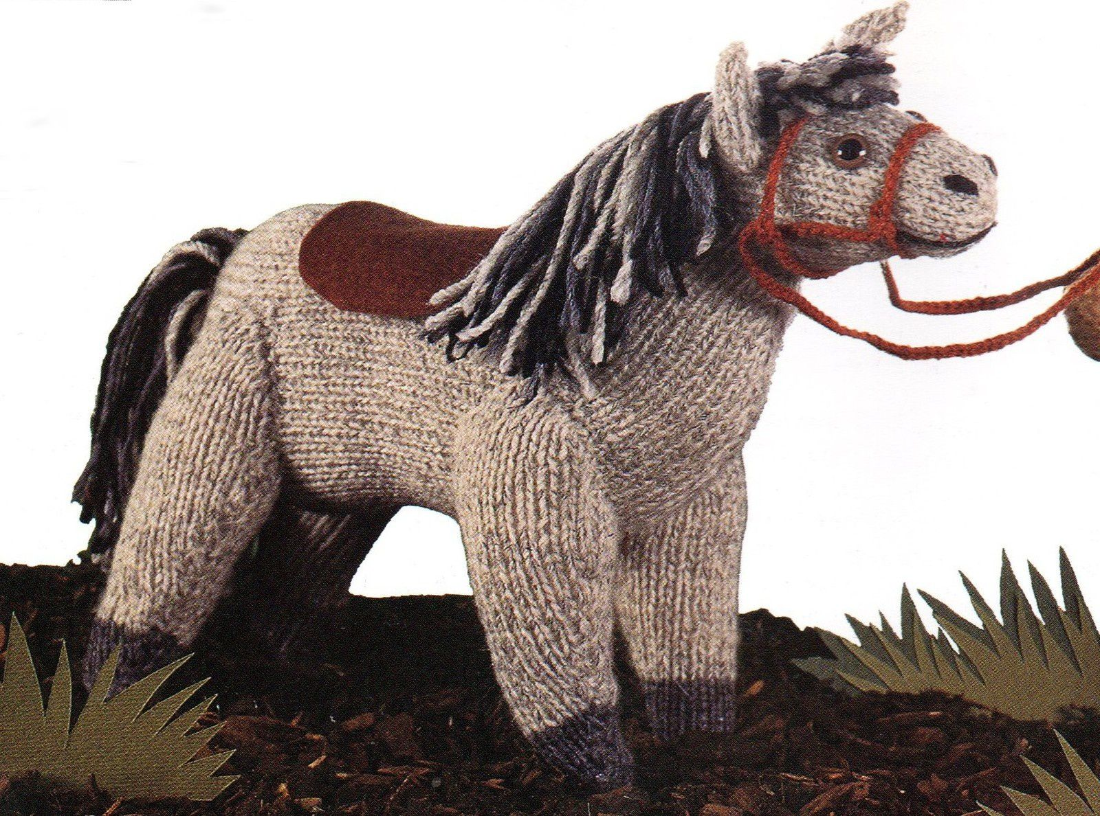 Tutoriel tricot - Cheval
