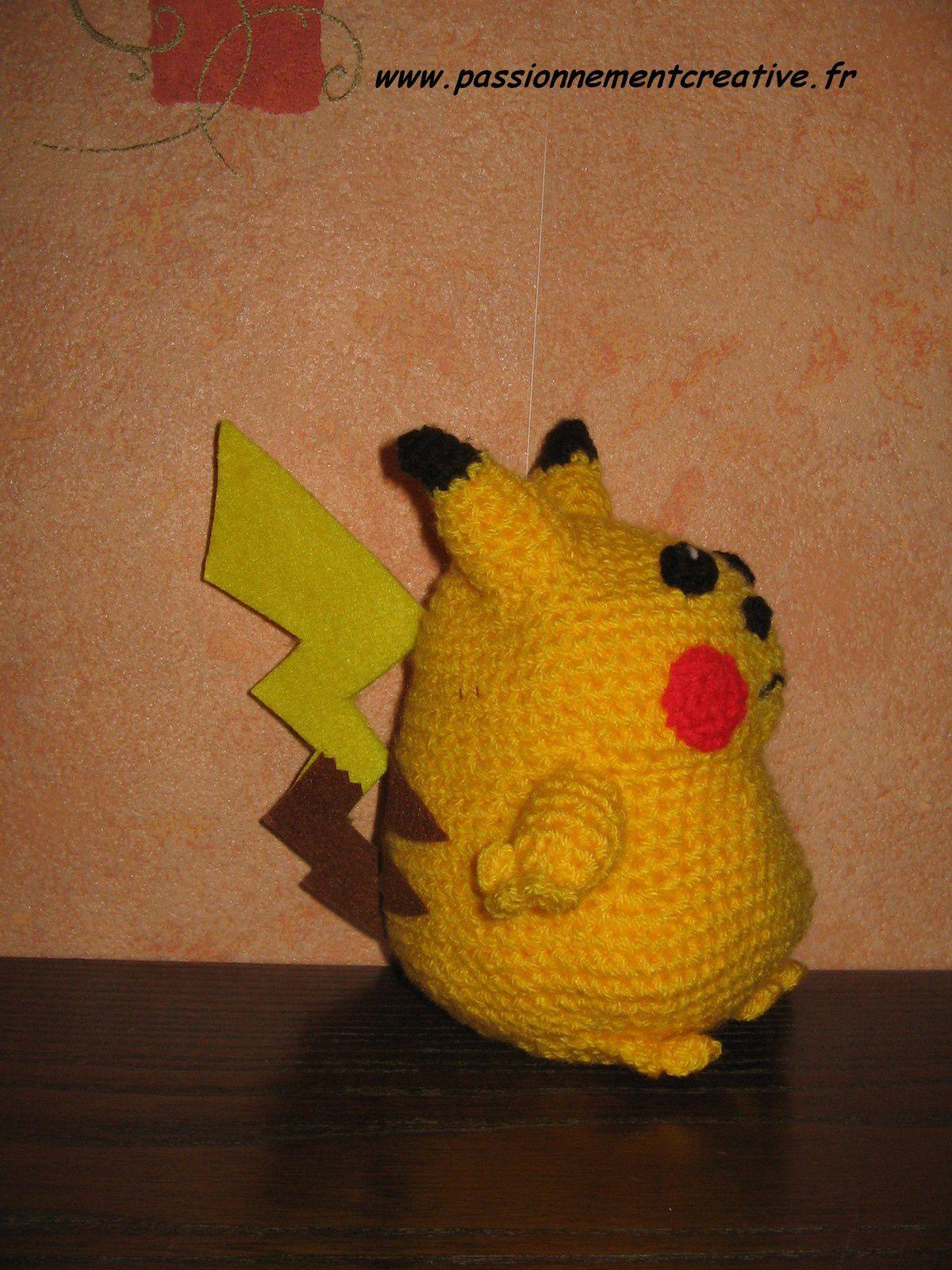 Pikachu au crochet