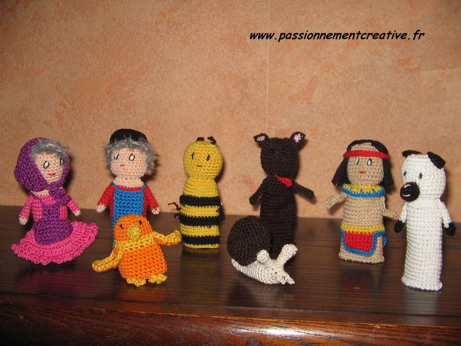 Encore des marionnettes à doigts